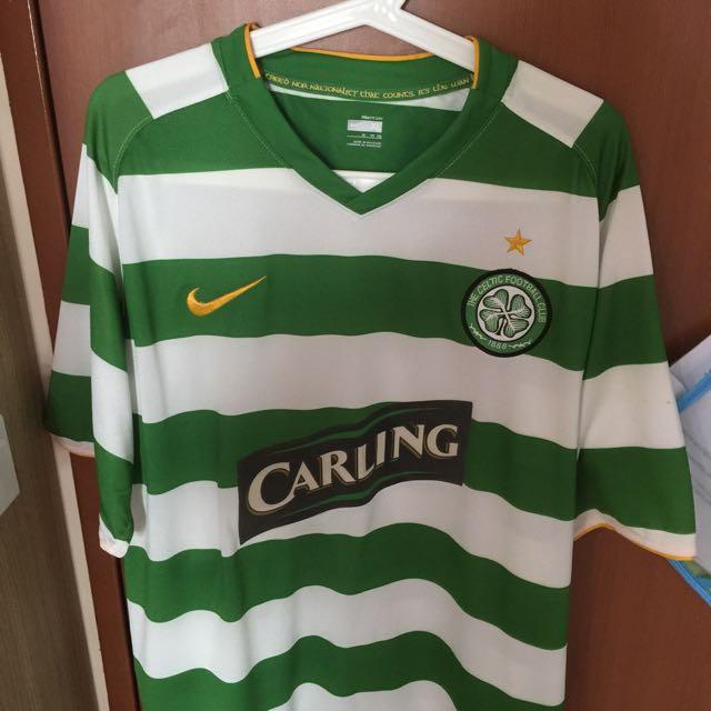 official photos d5a48 be0b2 Celtic Soccer Football Jersey