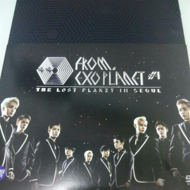 韓正版EXO 演唱會寫真