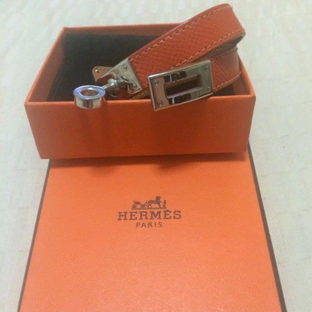 9a1bc55e909 Hermes Bracelet Kelly Double Tour