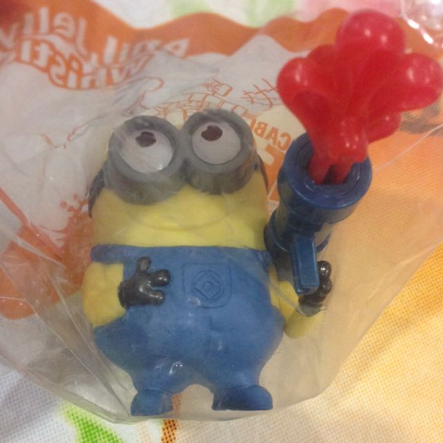 McDonald's Minion Toy! Brand new In Pack!