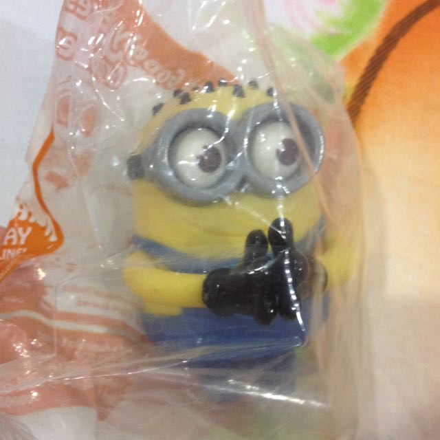 McDonald's Minion Toy Brand New In Pack