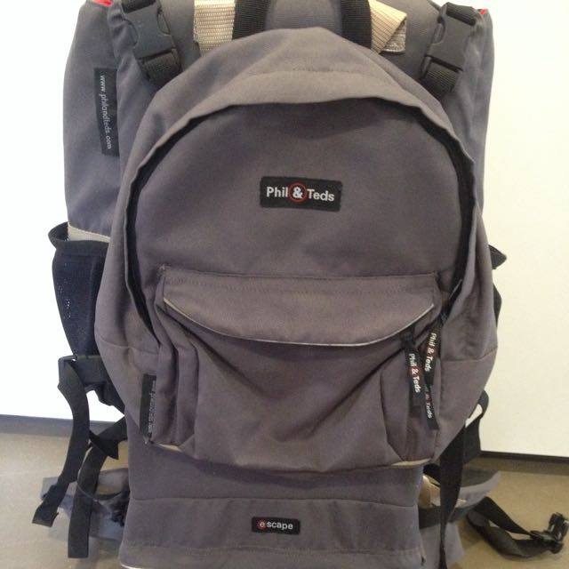 Phil And Teds Escape Back Pack Carrier Babies Kids On Carousell