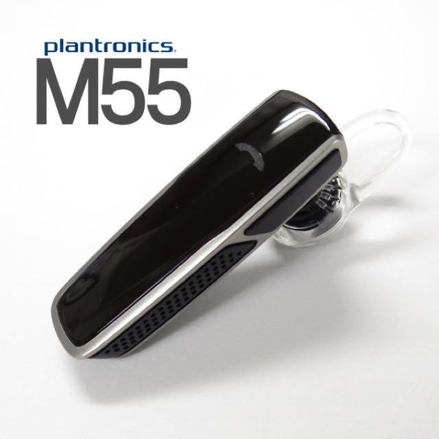 e33bc82e059 Plantronics M55 Bluetooth Headset, Electronics on Carousell