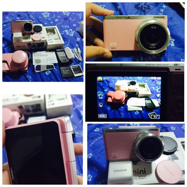 samsung 三星 NX-MINI 9-27mm變焦鏡 粉色