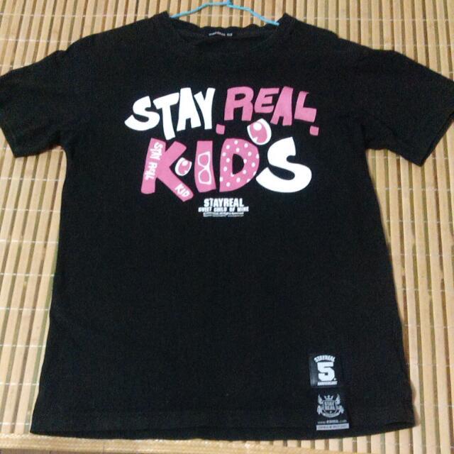 STAYREAL KIDS Tee (二手)