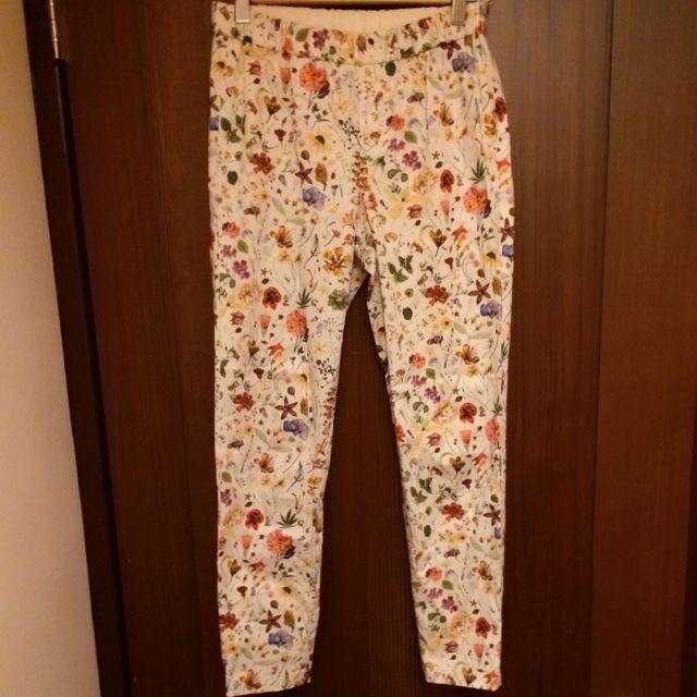 日本TOMMOROWLAND×LIBERTY印花合身褲