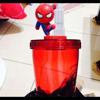 全新/漫威/MARVEL 全家超級吸力杯 蜘蛛人