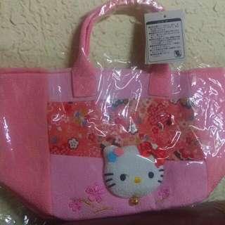日本全新kitty正貨手提小包
