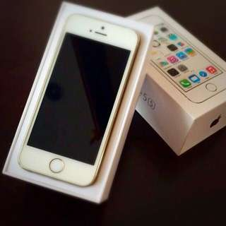 WTS WTT Apple iPhone 5s Gold 32gb Very Good Condition
