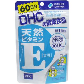 DHC 營養補給品 維他命E 60日份(60粒)