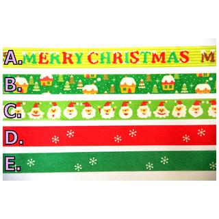 🚚 【分裝】 知音 Funtape 聖誕節系列  紙膠帶