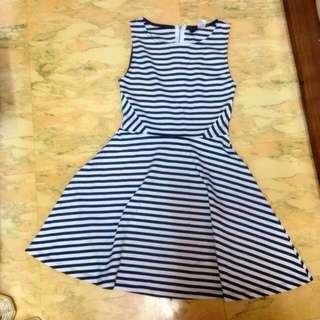 H&M 條紋裙 日本購入 超顯瘦