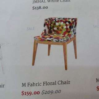New Fabric Chair