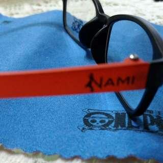 已售出/海賊王 航海王 第二代限量鏡框 NAMI 限定150付