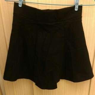 🔶降🔶全新 傘狀 黑色 膝上裙