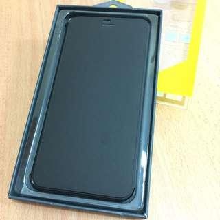Semi Transparent Flip Cover Case for iP6 +