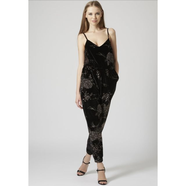91b8ce0785 bnib topshop black velvet floral jumpsuit 1437404867 261e288c.jpg