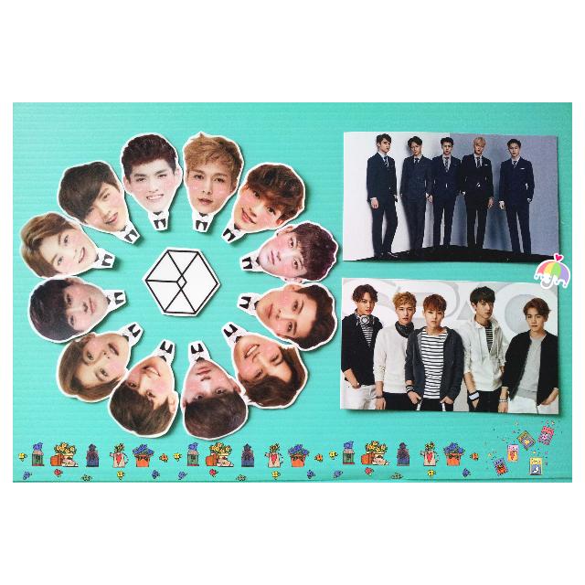 EXO 二巡人物貼紙(全員款)