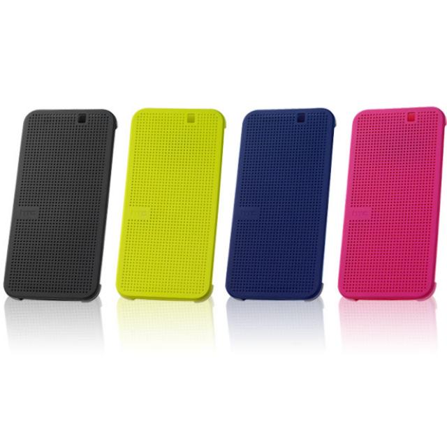 HTC One M9炫彩顯示保護套(灰黑色)
