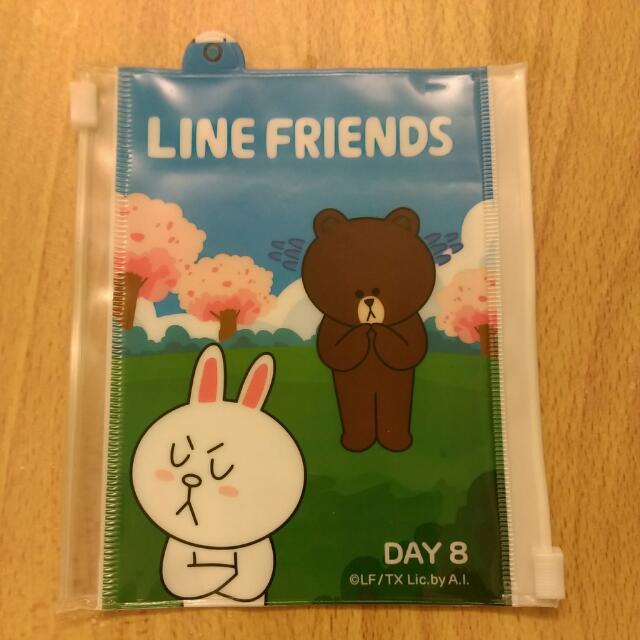 LINE Friends 雙口 夾鏈袋