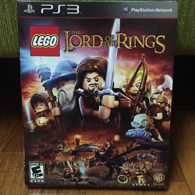 PS3 LEGO Lord Of The Rings With Bonus Movie