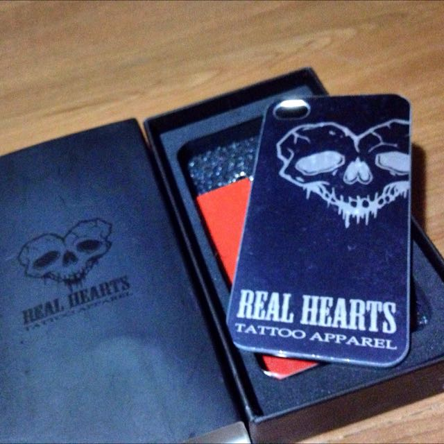 REAL HEARTS CNC裁切鈦iphone4殼