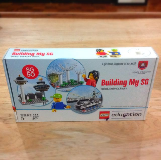 Limited Edition SG50 Special LEGO set Building My SG