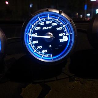 60mm DEFI Link Meter Advance C2 Series Auto Gauge BLUE