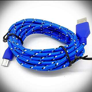 6 FT. LONG! Charging Cable For All Android device.