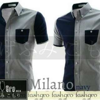 Milano Navy Shirt