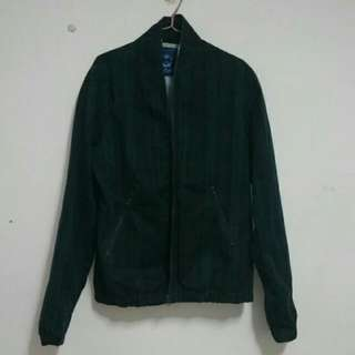 Olivo經典藍綠格夾克
