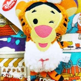 日本 東京海洋迪士尼購回 維尼家族 跳跳虎吊飾 洗泡泡浴限定版跳跳虎 日本連線