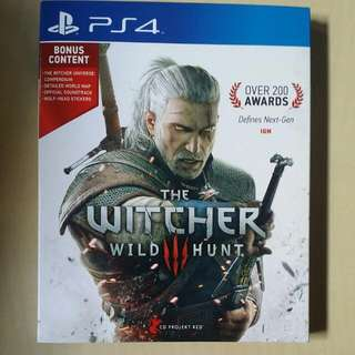 Sony Playstation 4(PS4) Game: Witcher 3 Wild Hunt