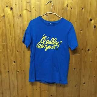 🚚 WALLY  藍色T恤