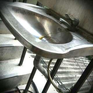 不銹鋼小洗手台