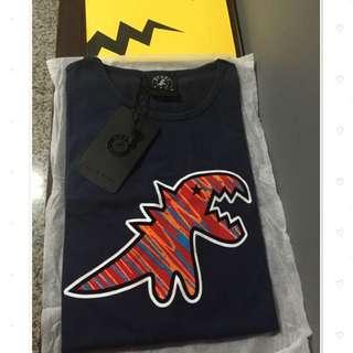 日本代購 agnes b. 彩色小恐龍 男款T恤 (含國際運費)