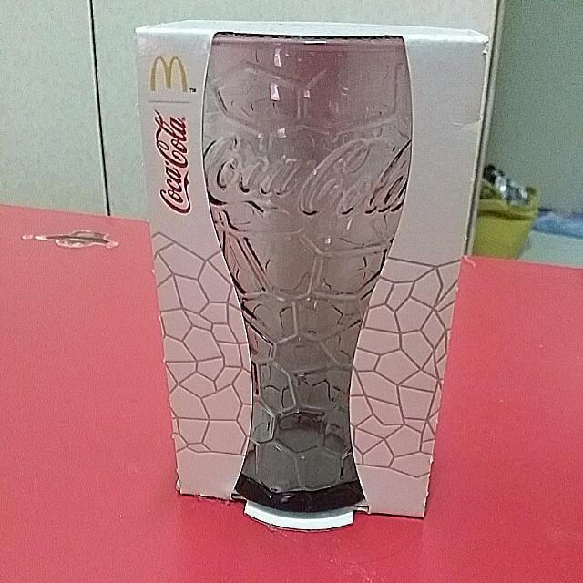麥當勞,可口可樂,2014龜裂玻璃杯