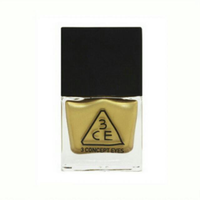 «二手»3CE 高飽和度超顯色指甲油
