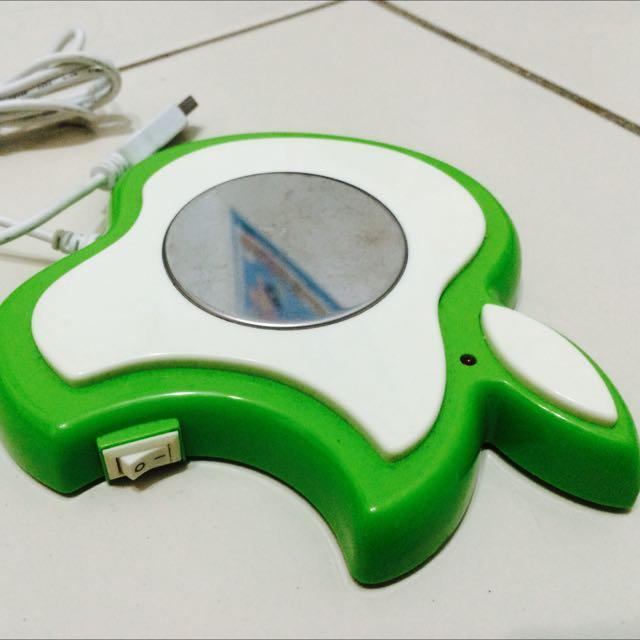 Apple 蘋果造型USB 杯杯保溫時尚必備