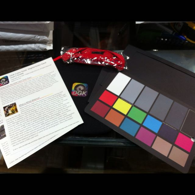 Color Checker Tool Kit With Stand