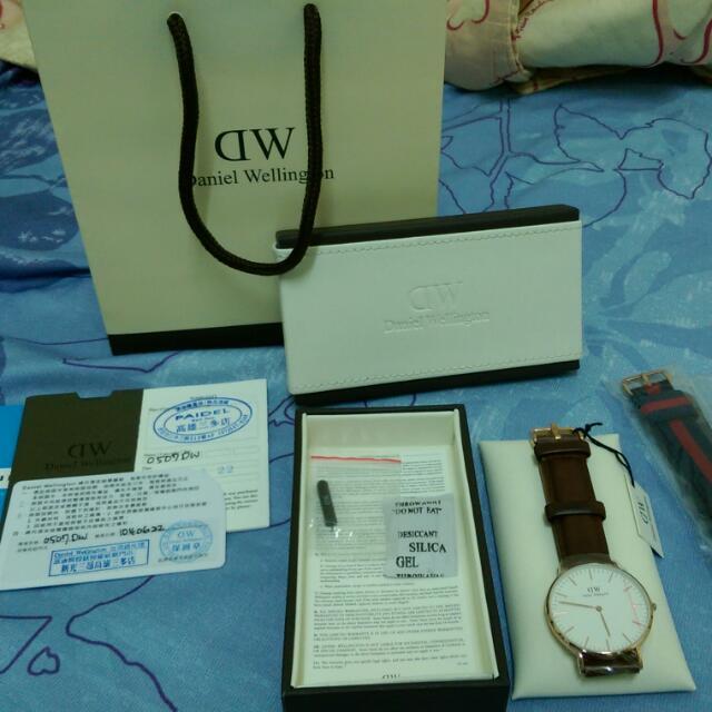 DW皮革手錶*(正品)