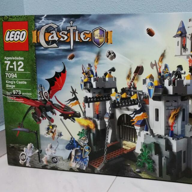 Lego King Castle Siege 7094 Toys Games On Carousell