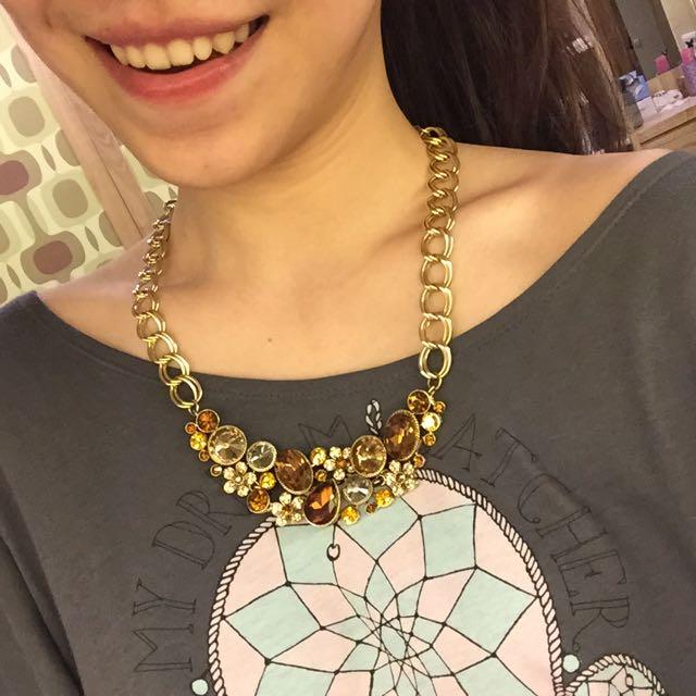 Lucy's 鑽石項鍊