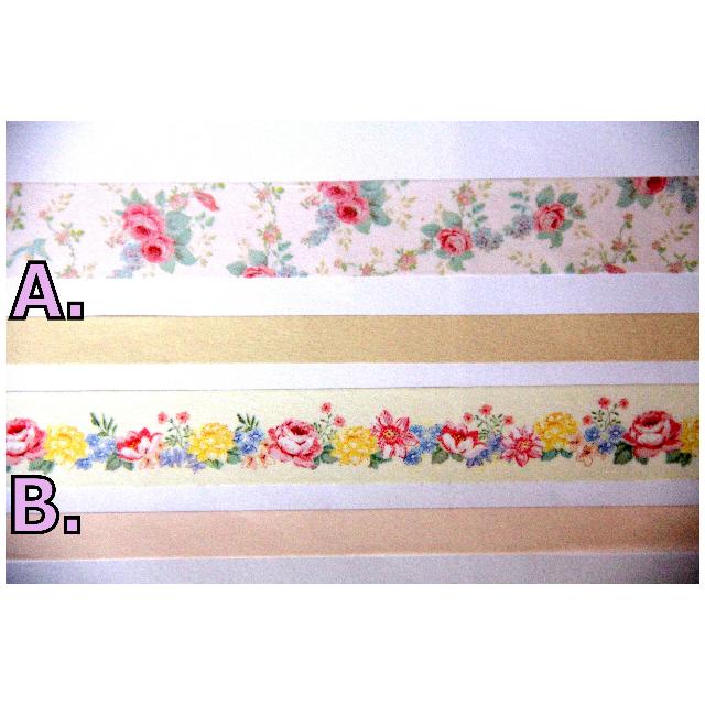 【分裝】Mark's 2013 天使花漾 英式花園 套裝 組合 紙膠帶