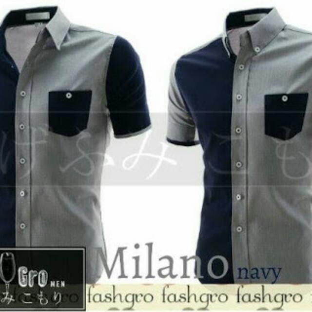 Milano Navy Shirt