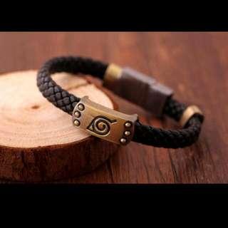 Naruto Leaf Symbol bracelet