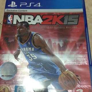 PS4 NBA2K15 二手 狀態良好