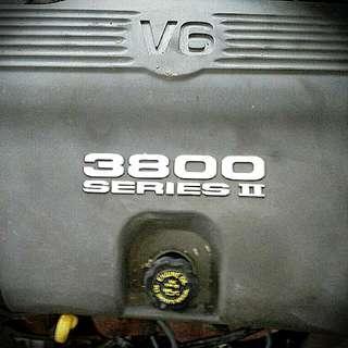 98 Pontiac Bonneville 3.8 v6 Motor And Transmission