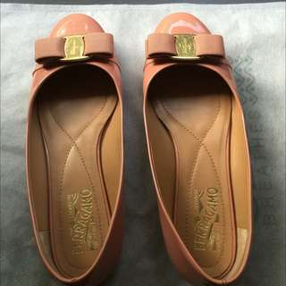 (SOLD) Ferragamo Flats For Sale
