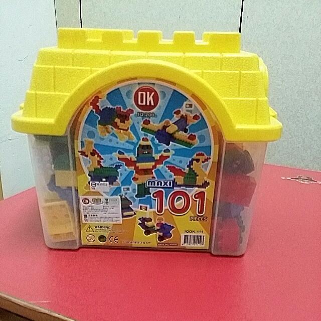益智積木101顆  適合3歲以上兒童